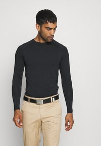 Cross Sportswear - ARMOUR - Koszulka sportowa - black - 0