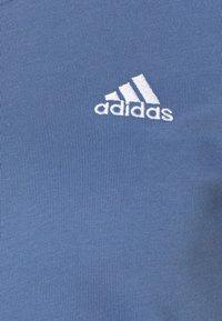 adidas Performance - T-shirt basic - blue/white - 2