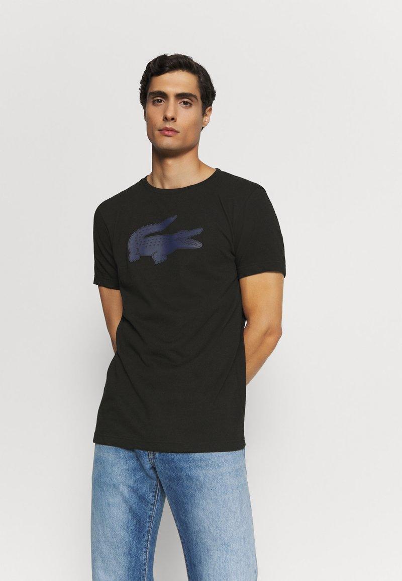 Lacoste - T-shirt z nadrukiem - noir