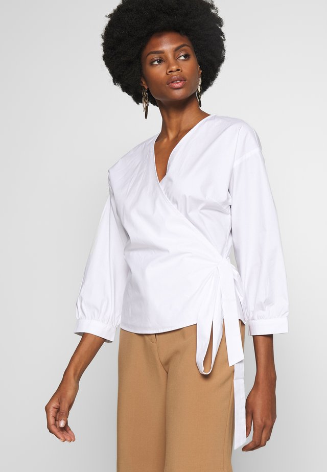 BARBROP - Blouse - bright white
