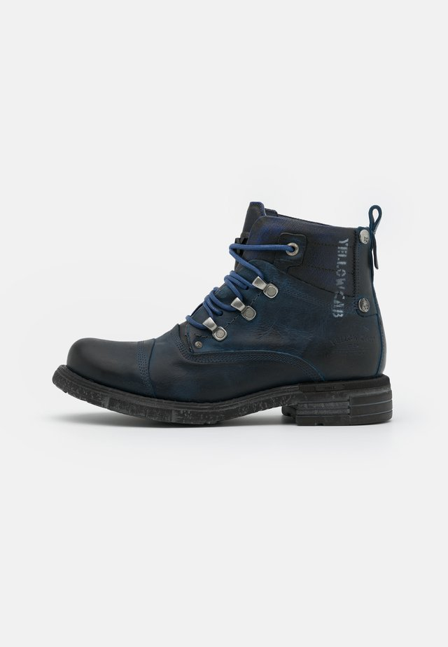 UTAH - Lace-up ankle boots - blue