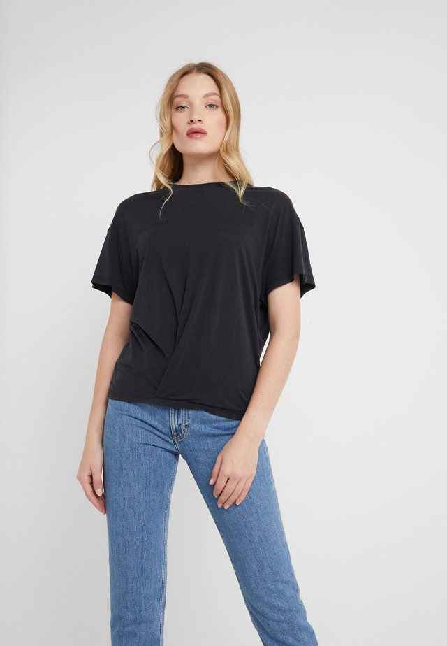 COLBY - Camiseta básica - used black