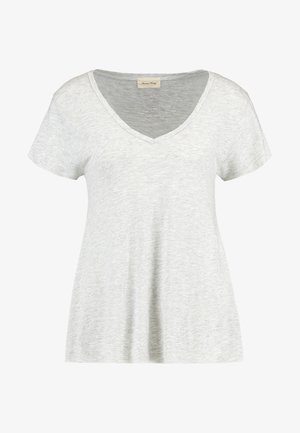 JACKSONVILLE V NECK TEE - Basic T-shirt - grey