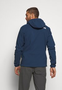 The North Face - NIMBLE HOODIE - Veste softshell - blue wing teal - 2