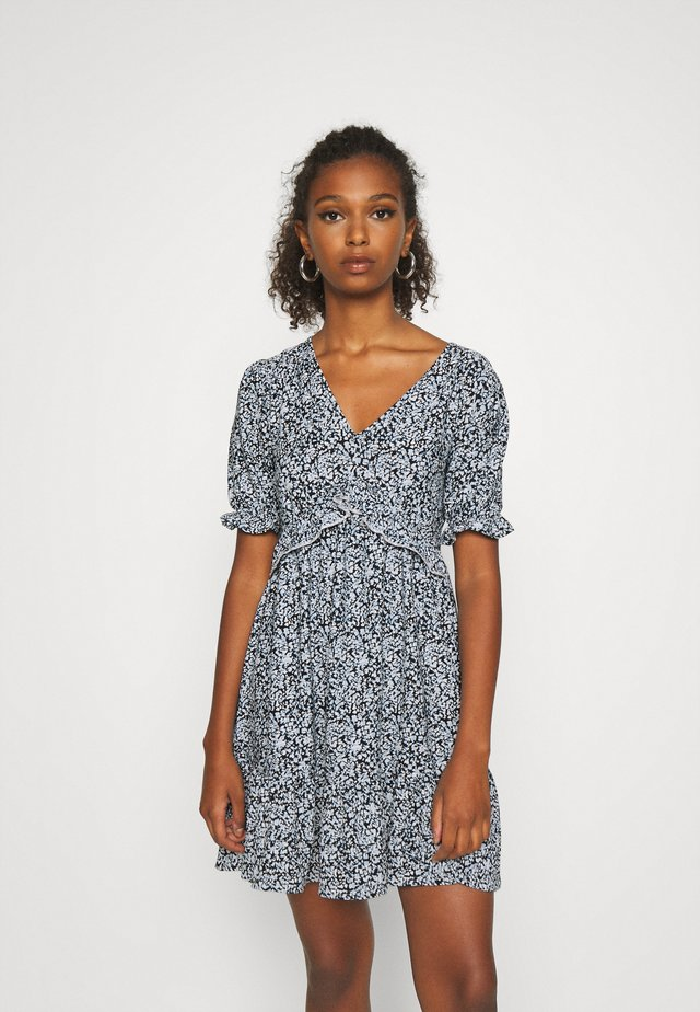 FRILL DETAIL SMOCK DRESS - Robe d'été - multi