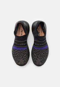 adidas by Stella McCartney - ULTRABOOST X 3.D. KNIT S. - Neutral running shoes - core black/collegiate purple - 3