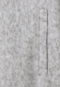 Vero Moda Tall - VMBRUSHEDKATRINE - Manteau classique - light grey melange - 2
