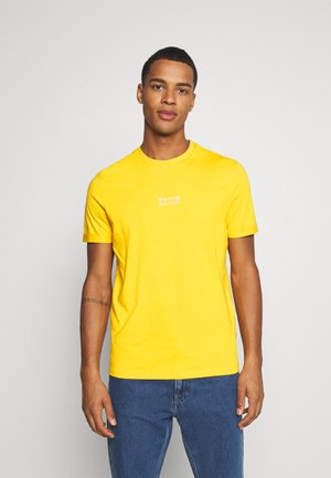 T-shirt z nadrukiem - yellow