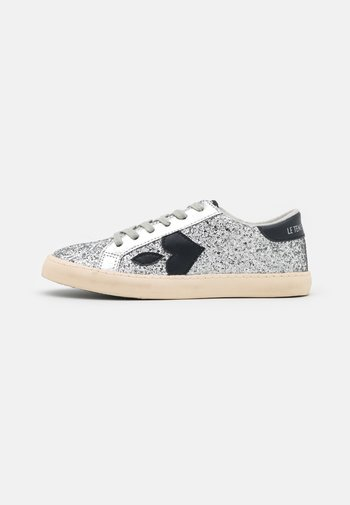 AUSTIN GLITTER - Sneakers - silver