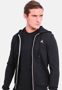 le coq sportif - ESS FZ - Zip-up hoodie - black - 0