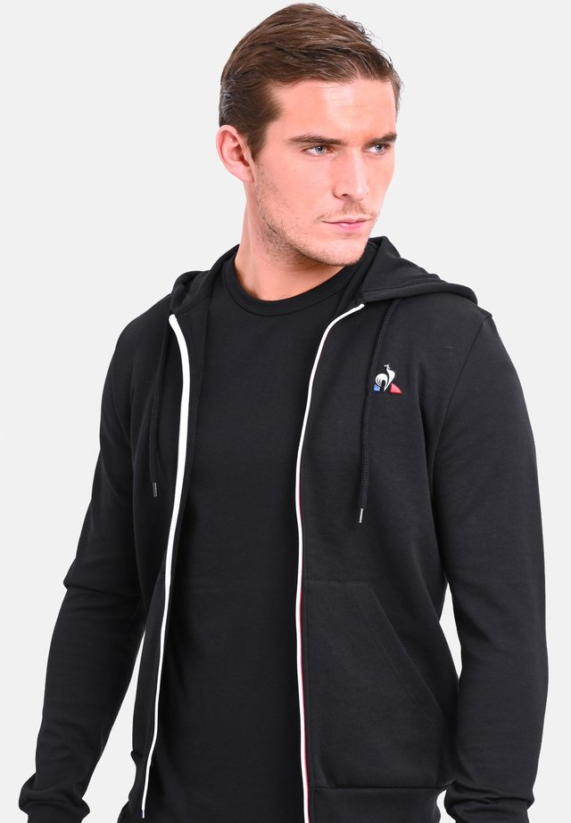 ESS FZ - veste en sweat zippée - black