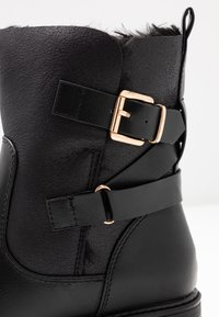 Dorothy Perkins - ALOHA BACK BUCKLE - Classic ankle boots - black - 2