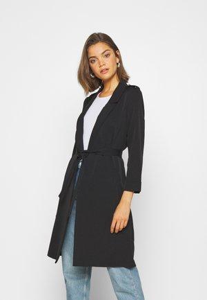 ONLQUIN COATIGAN - Classic coat - black
