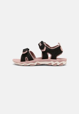 GLITTER UNISEX - Walking sandals - black
