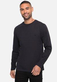 Threadbare - 5 PACK - Long sleeved top - navy/grey marl/black/white/blue - 1