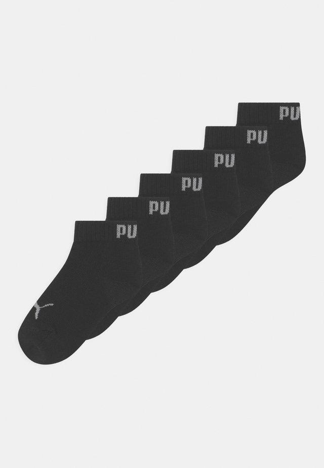 QUARTER 6 PACK UNISEX - Sokken - black