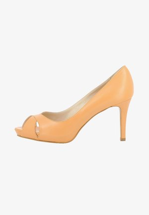 DAMEN ELISA - Peep toes - orange