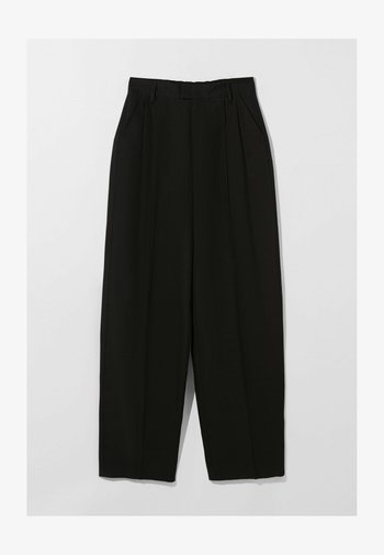 WIDE LEG - Kalhoty - black