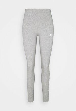 Collants - medium grey heather/white