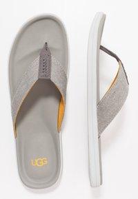 UGG - BROOKSIDE FLIP - T-bar sandals - seal - 1