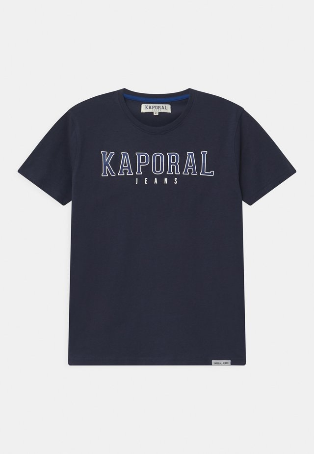 BASIC LOGO - T-shirt imprimé - navy