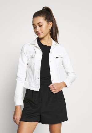 SLIM RIDER - Denim jacket - white denim
