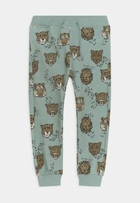 Name it - NMMTHORST PANT  - Tracksuit bottoms - silver blue - 0