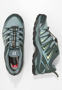 Salomon - X ULTRA 3 GTX  - Hiking shoes - artic/darkest spruce/sunny lime - 1