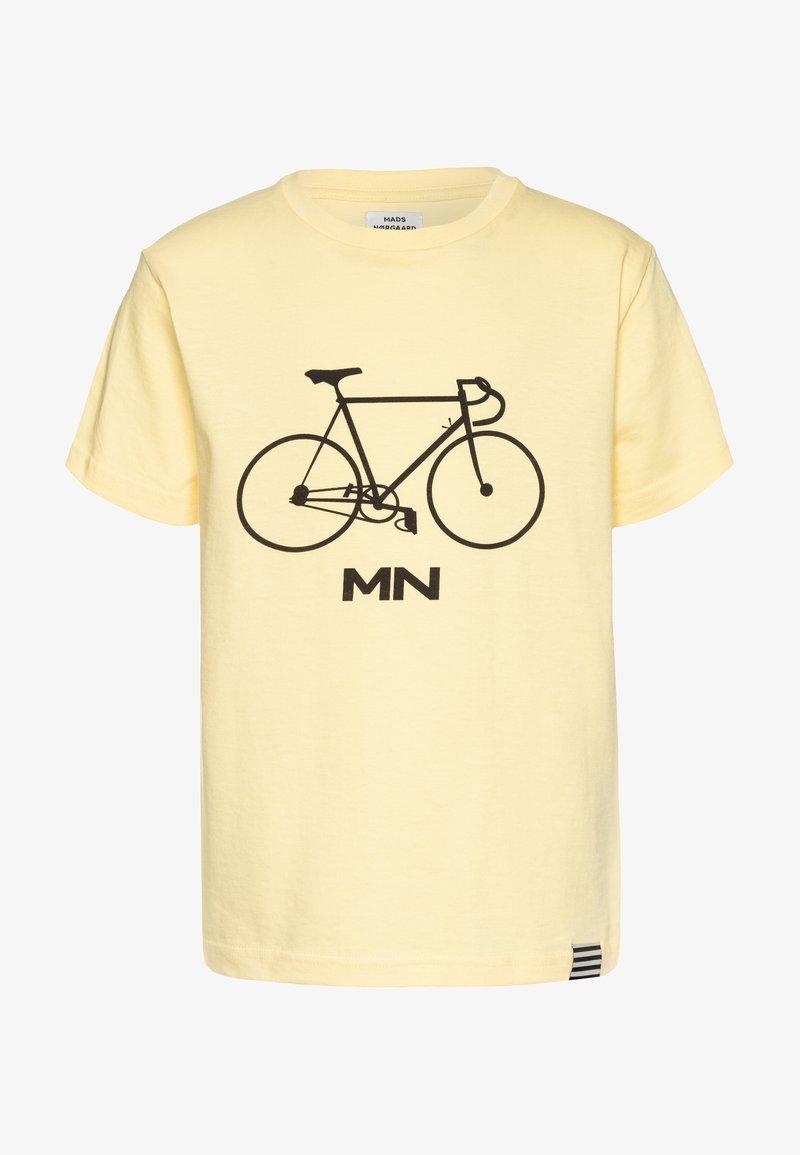 Mads Nørgaard - PRINTED TEE THORLINO - Print T-shirt - popcorn