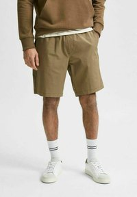 Selected Homme - Shorts - capers - 0