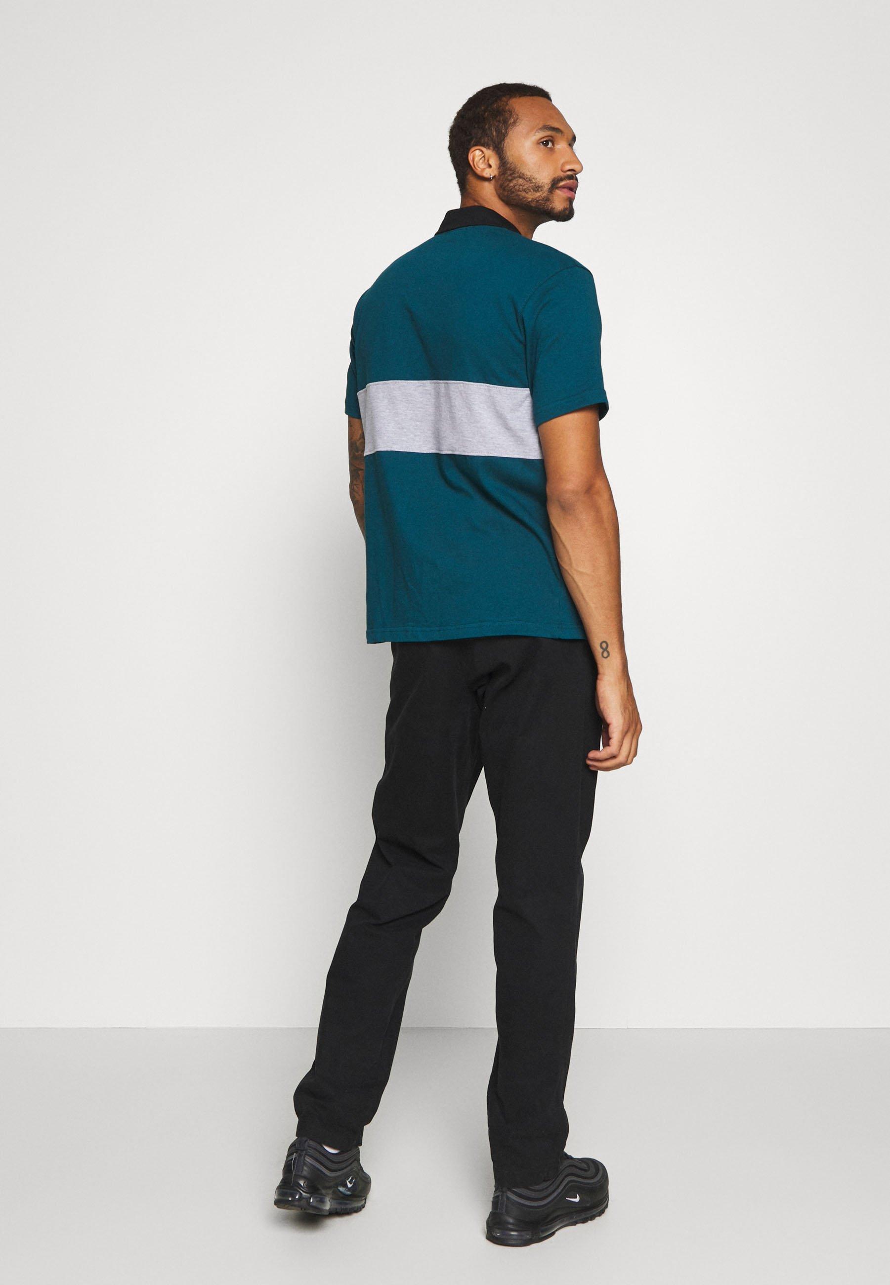 Mennace CHEST PANEL RUGBY - Polo shirt - green gBDlH