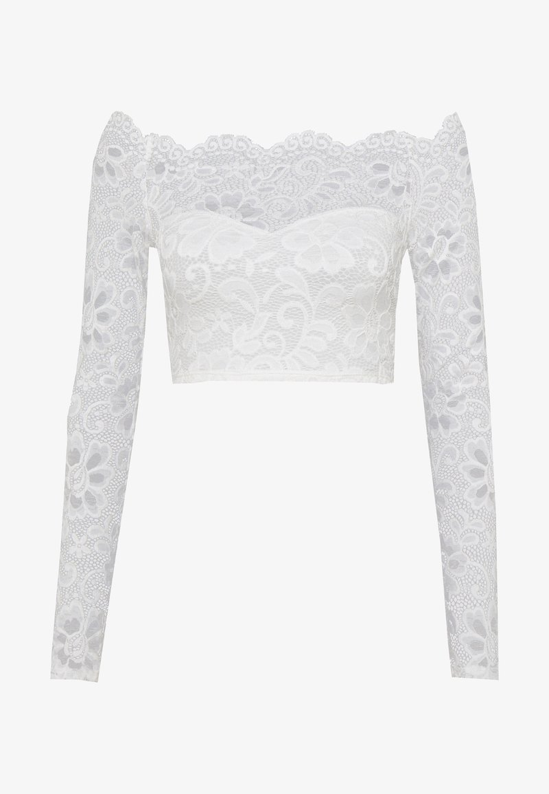 Nly by Nelly - OFF SHOULDER - Blusa - white