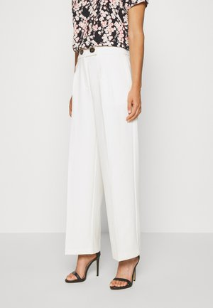 ONLNEELA KARAH LIFE  - Trousers - cloud dancer