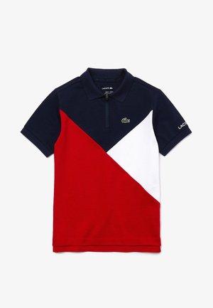 Polo shirt - bleu marine / blanc / rouge