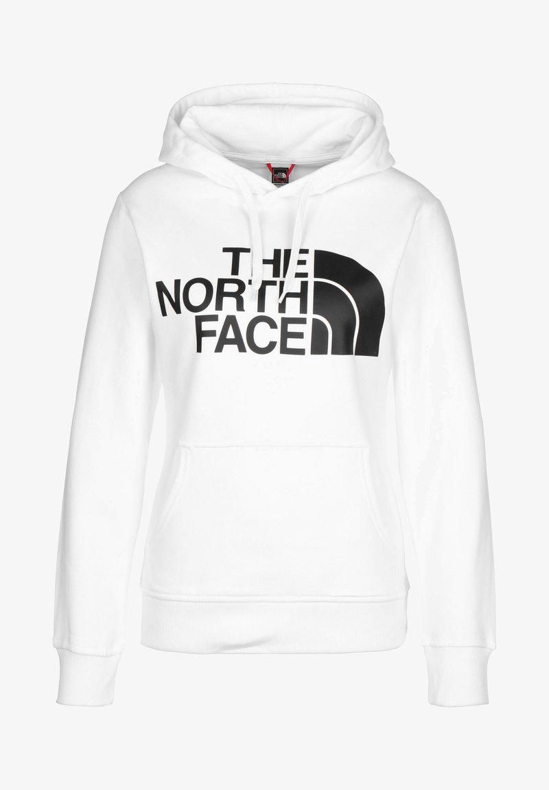 The North Face - STANDARD HOODIE - Hoodie - white