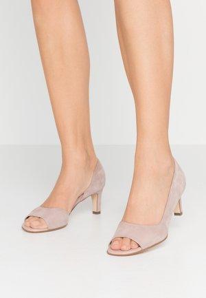 BEATE - Peep toes - mauve