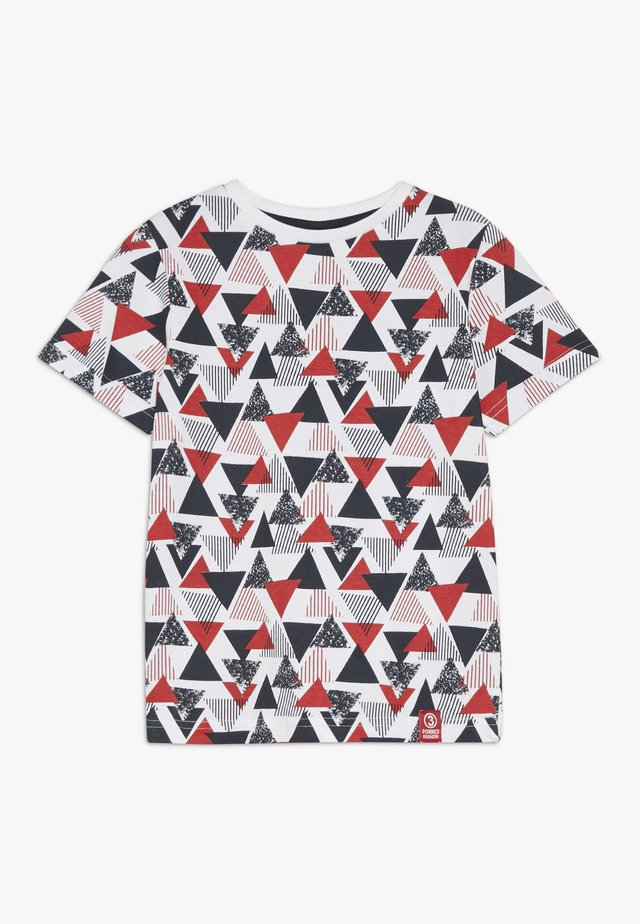 TEE - T-shirts med print - red