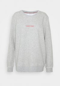 Calvin Klein Underwear - RAW EDGE LOUNGE - Pyjama top - grey - 0
