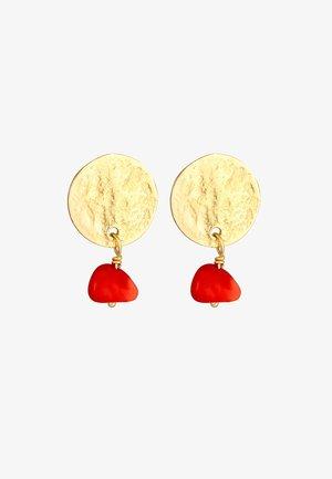 PLÄTTCHEN - Boucles d'oreilles - gold