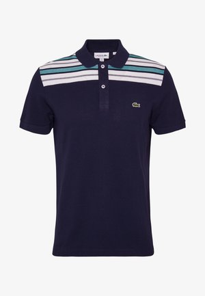 PH5101-00 - Poloshirt - navy blue/white/niagara blue