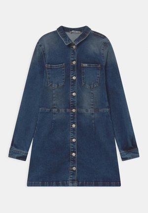 HALSEY - Denim dress - blue denim