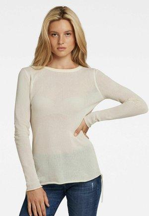 MESH  - Pullover - white