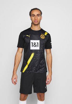 BVB BORUSSIA DORTMUND AWAY SHIRT REPLICA SPONSOR LOGO - Klubbkläder - black