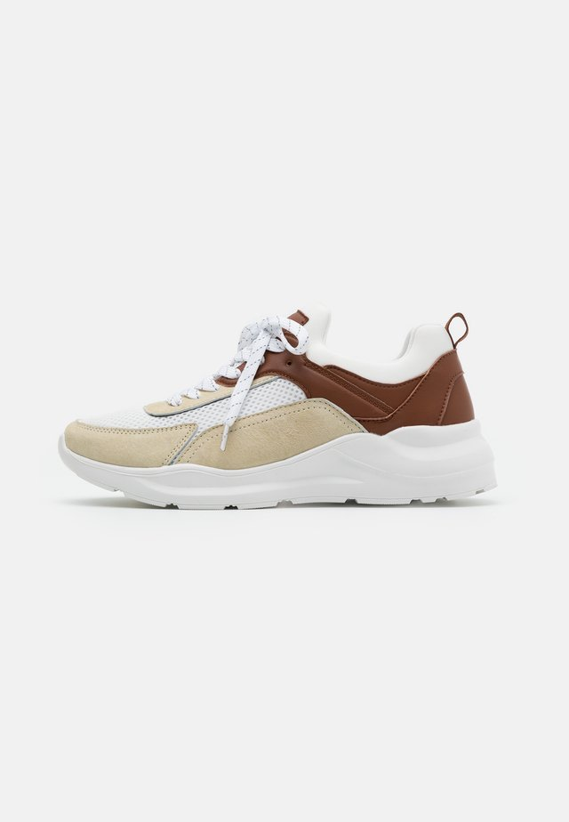 LEATHER - Sneakers laag - beige
