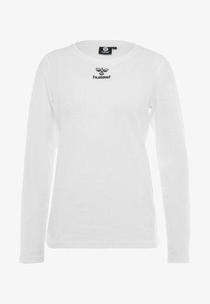FRAME - Langarmshirt - white