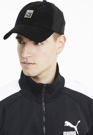 CLASSICS WOVEN TRAINER CAP MÄNNER - Keps - black
