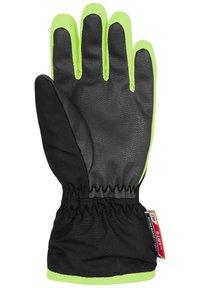 Reusch - BEN - Gloves - black / neon green - 2