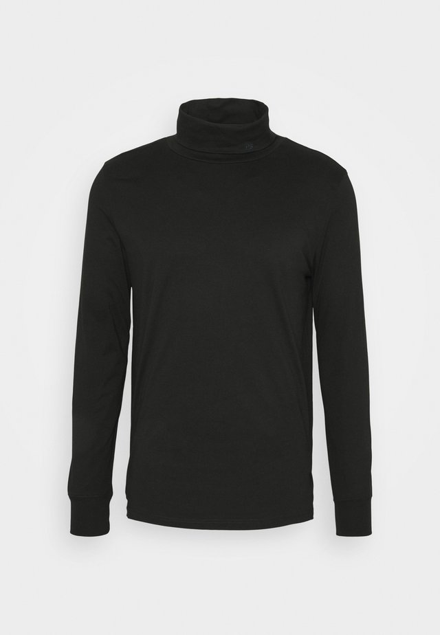 MENS ROLL NECK - T-shirt à manches longues - black