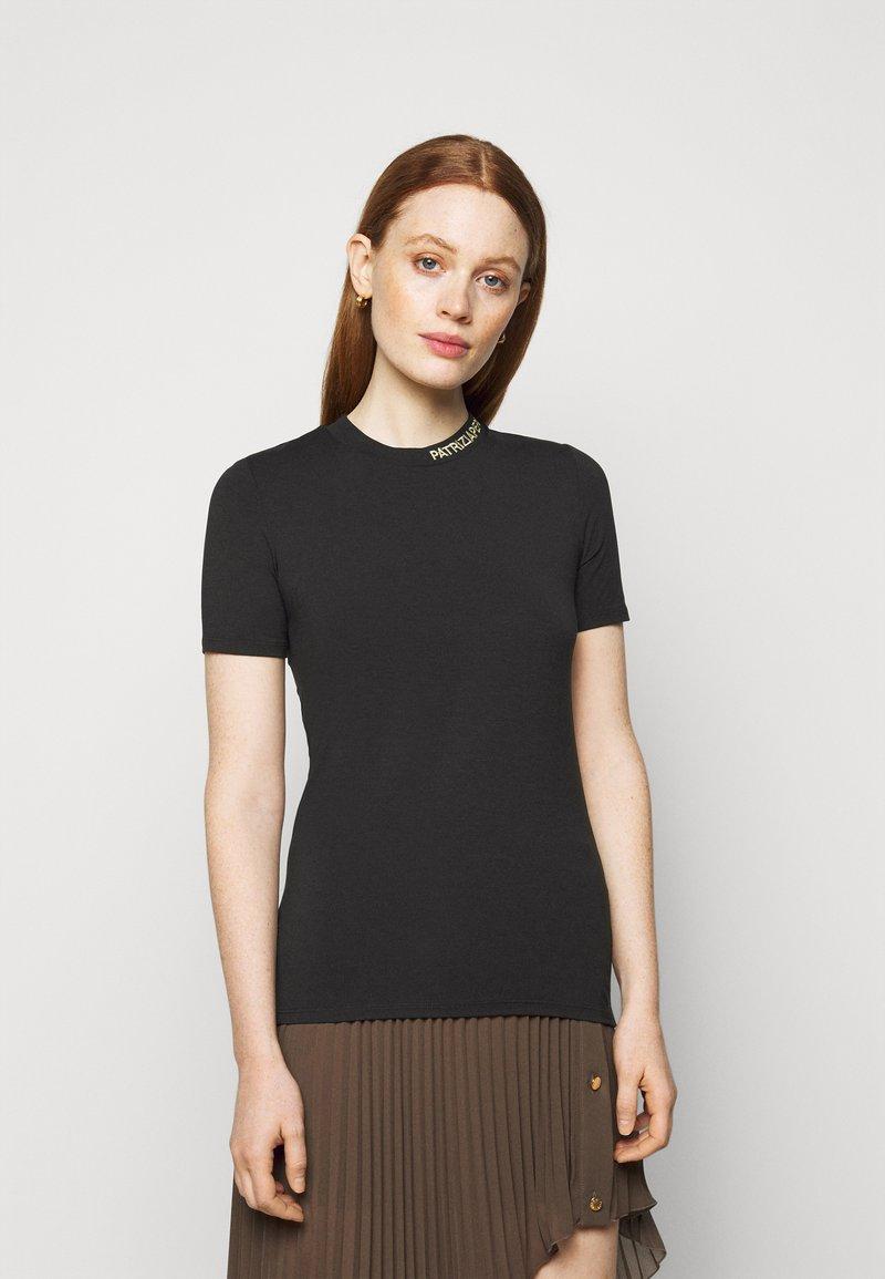 Patrizia Pepe - MAGLIA - T-shirt basique - nero