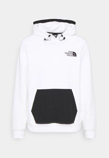 TECH HOODIE - Sweater - white